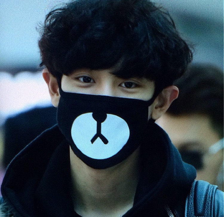 2015-Black-Anti-Dust-Cotton-Cloth-Face-Mouth-Mask-Kpop-EXO-Chanyeol-Chan-yeol-Cute-Bear