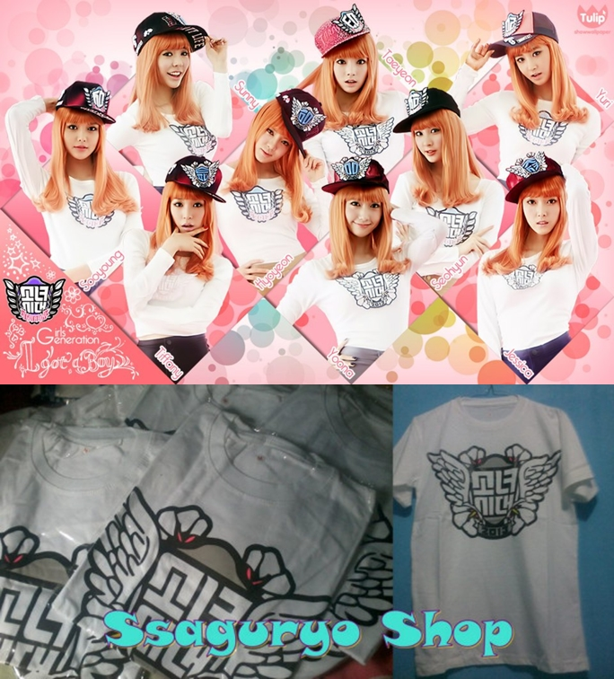 snsd pop up store