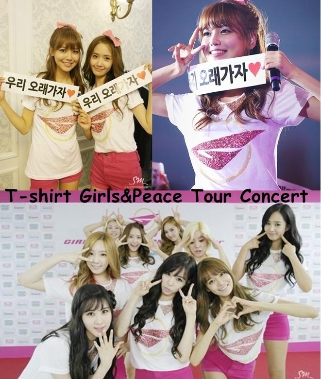 Girls&peace Tee