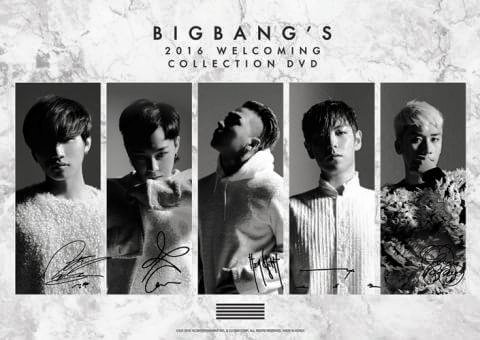 bigbang welcoming collection dvd