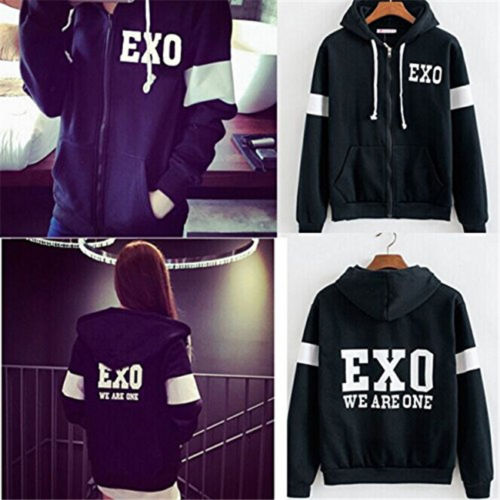 exo we are one hoodie
