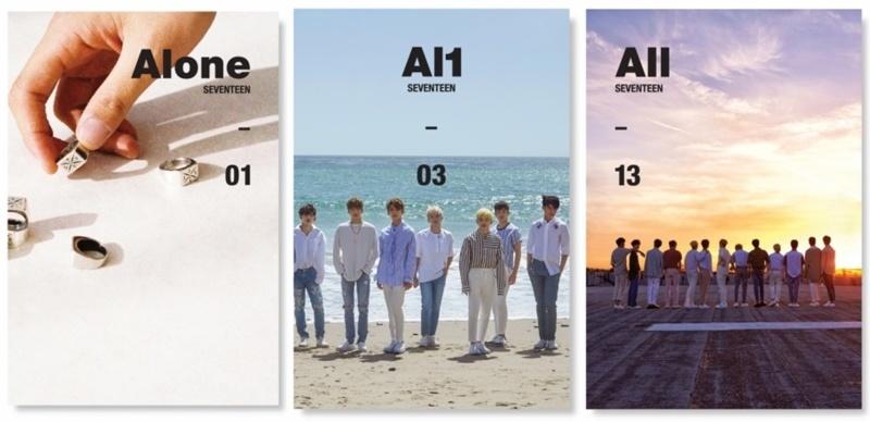 seventeen 4th mini albums