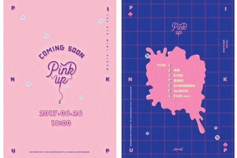 apink pink up