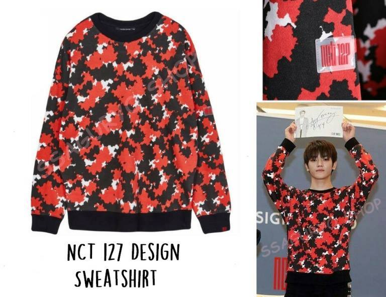 nct127 design sweater