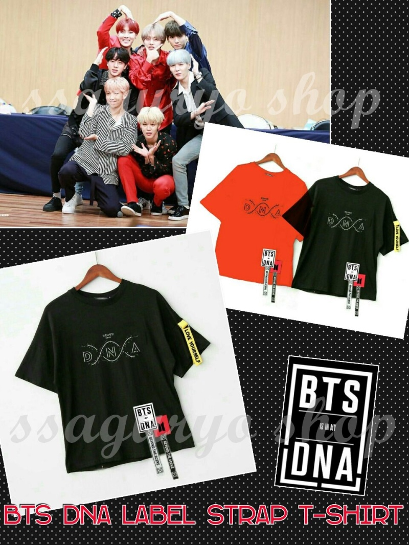 BTS DNA label strap