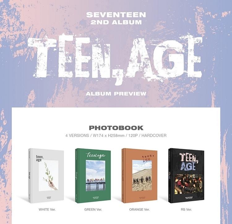 seventeen teen age cover