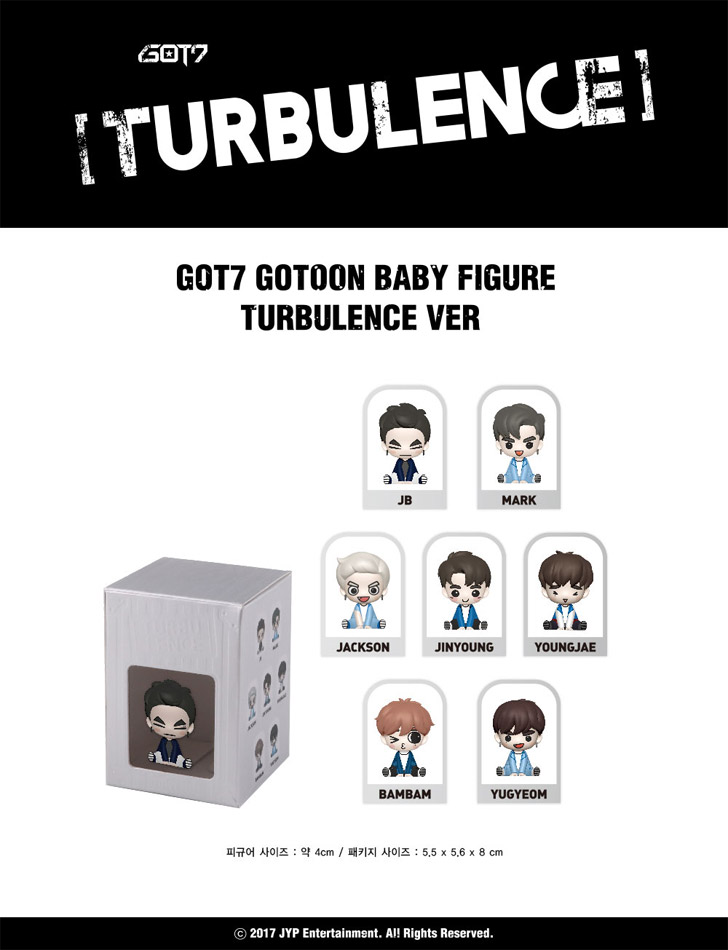 got7 gotoon baby figure