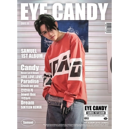 samuel eye candy cover